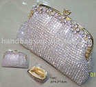 crystal purse( net crystal purse,crystal clutch bag, crystal clutch purse,crystal evening bag, crystal evening purse, party bag)