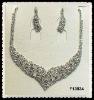 wedding necklace set F13934