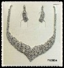 wedding necklace set F13934