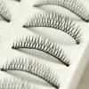10 pairs fashion natural thick long false eyelash extension