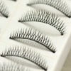 10 pairs fashion natural thick long false eyelash extension