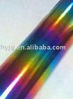 multi-coloured foil