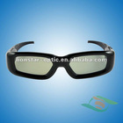 3D active shutter for DLP projector,working on Optoma /Acer /Benq /Viewsonic /LG /Sharp /NEC
