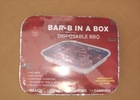 Disposable BBQ in foil tray