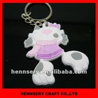3D plastic key chain