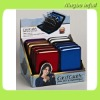 delicate waterproof card caddy for credit card ,business card