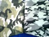 camouflage fabric 65%polyester35%cotton 20x16 120X60 57/58""