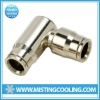 High pressure misting system-slip lock Elbow connector