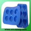 Novelty funny shape silicone cake mould with top quality