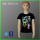short sleeve 100 cotton printing kid clothes t shirt