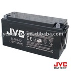 Sealed lead acid battery 12V150AH for solar DC system