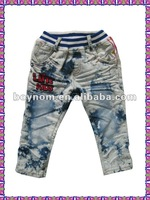 2012 latest style childrens denim jeans