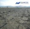 Ground solar bracket (ground screw)