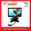 SILICON-701 7inch color tft lcd monitor