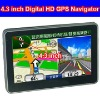 Portable 4.3 inch GPS Navigator with Bluetooth and AV-IN