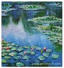 Repro 50*60cm Oil Painting Claude Monet Water Lilies