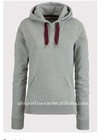 Ladies' novelty pure color fleece hoodies