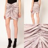 Hot Sale Cheap Skirt! Fashion Gathered Skirt in Sand Print(SK2113)