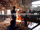 Fixed plant rail welding plant machine