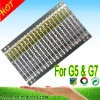Professional li-ion battery pcb board making,for G5 battery,2011 Hot selling!