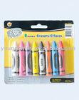 8-pc Crayon Eraser