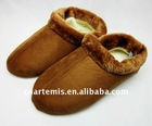 women electric heated slippers