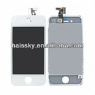 White touch screen assembly for iPhone 4G