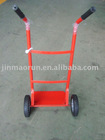 red simple hand trolley