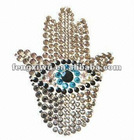 mobile phone crystal stickers Evil eye decoration OEM designs are welcome crystal stickers
