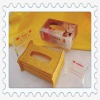 golden color acrylic napkin box