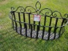 flower basket metal basket flower stand flower rack
