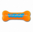 Squeaky Woof Bone Dog Toy