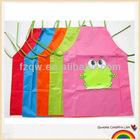 Cute cartoon waterproof apron for kids