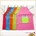 Cute cartoon waterproof apron for kids