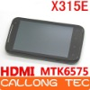x315e G21 4.3 inch Capacitive Screen MTK6575 Android 4.0 WCDMA 3G WIFI GPS x315e phone