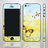 For iPhone5 Skin Butterfly Flower Skin