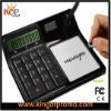 Solar Erasable memo note marker with calculator