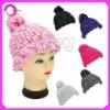 Girls cute winter knitted hats RQ-B15