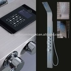 The Luxury Stainless Steel Bathroom LED Shower Columns NO.MS-V903