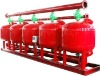 Water treatment system quartz sand filter