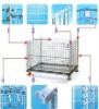 stackable wire mesh storage cage