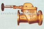 Bronze screw-down vertical storm valve
