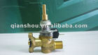 90degree single nozzle gas plug valve for built-in cooker