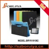 New For iPad 3 High Quality Microfiber Leather Cover Case