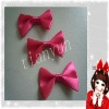 handmade polyester decorative young females hair bowknot