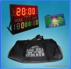 Portable LED multisport scoreboard