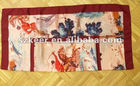 silk digital print scarf for lady in classic design