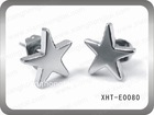 classic star stainless steel stick earring wholesaler