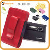 Leather Cell Phone Holder Ipod Pouch