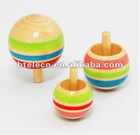 The hotest wood spinning Top,wood toys for kids